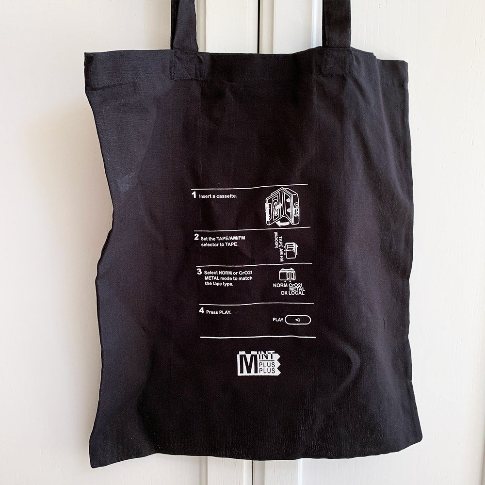 'How To' Cassette Tape Tote Bag