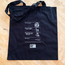Load image into Gallery viewer, 'How To' Cassette Tape Tote Bag