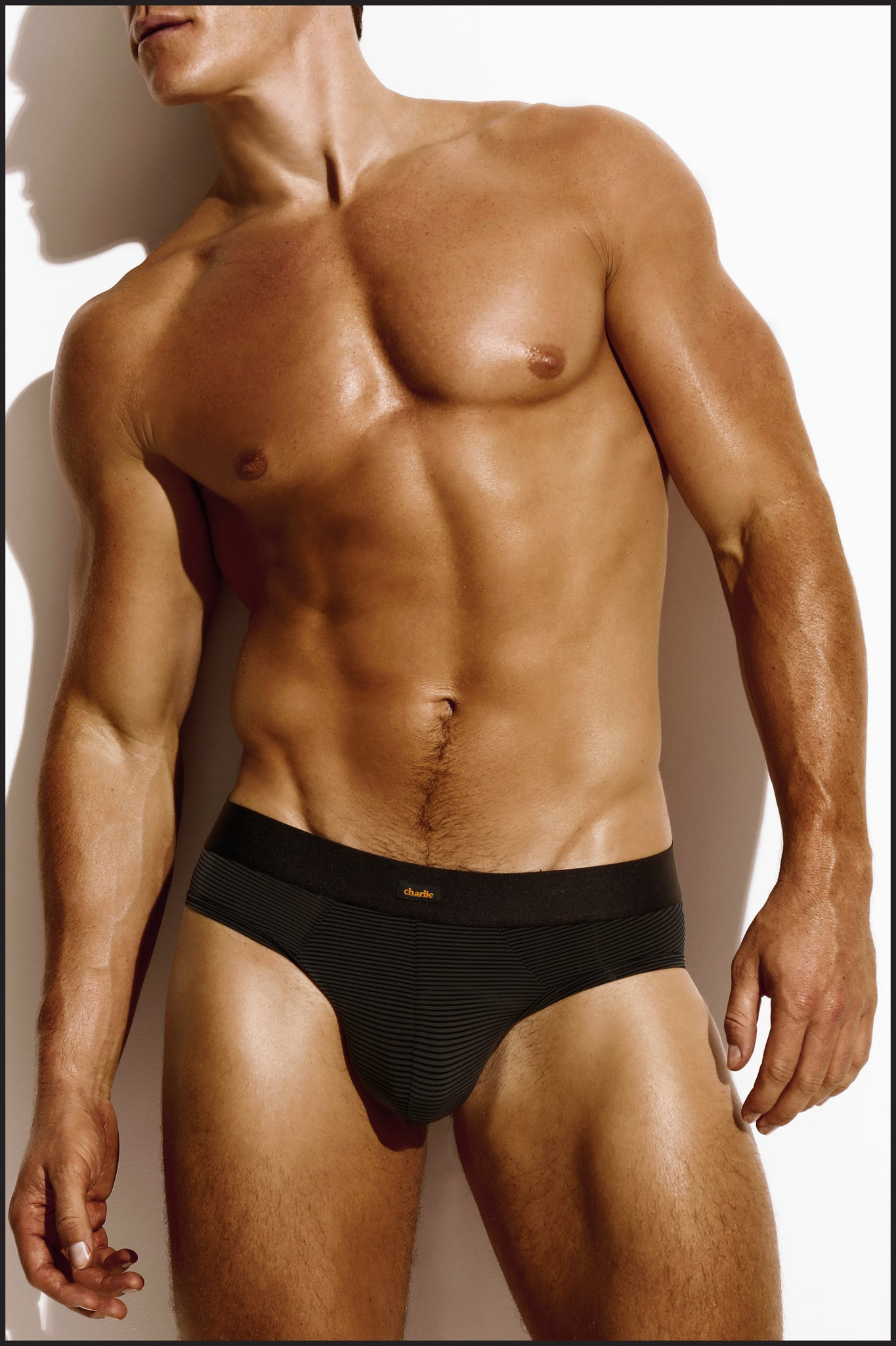 Charlie by Matthew Zink Noir Underwear Classic Brief