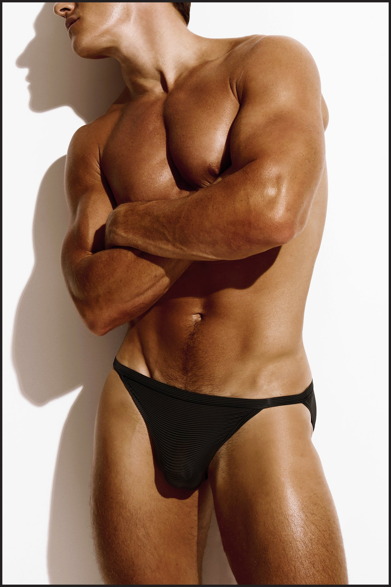 Charlie by Matthew Zink Noir Underwear Muscle Brief