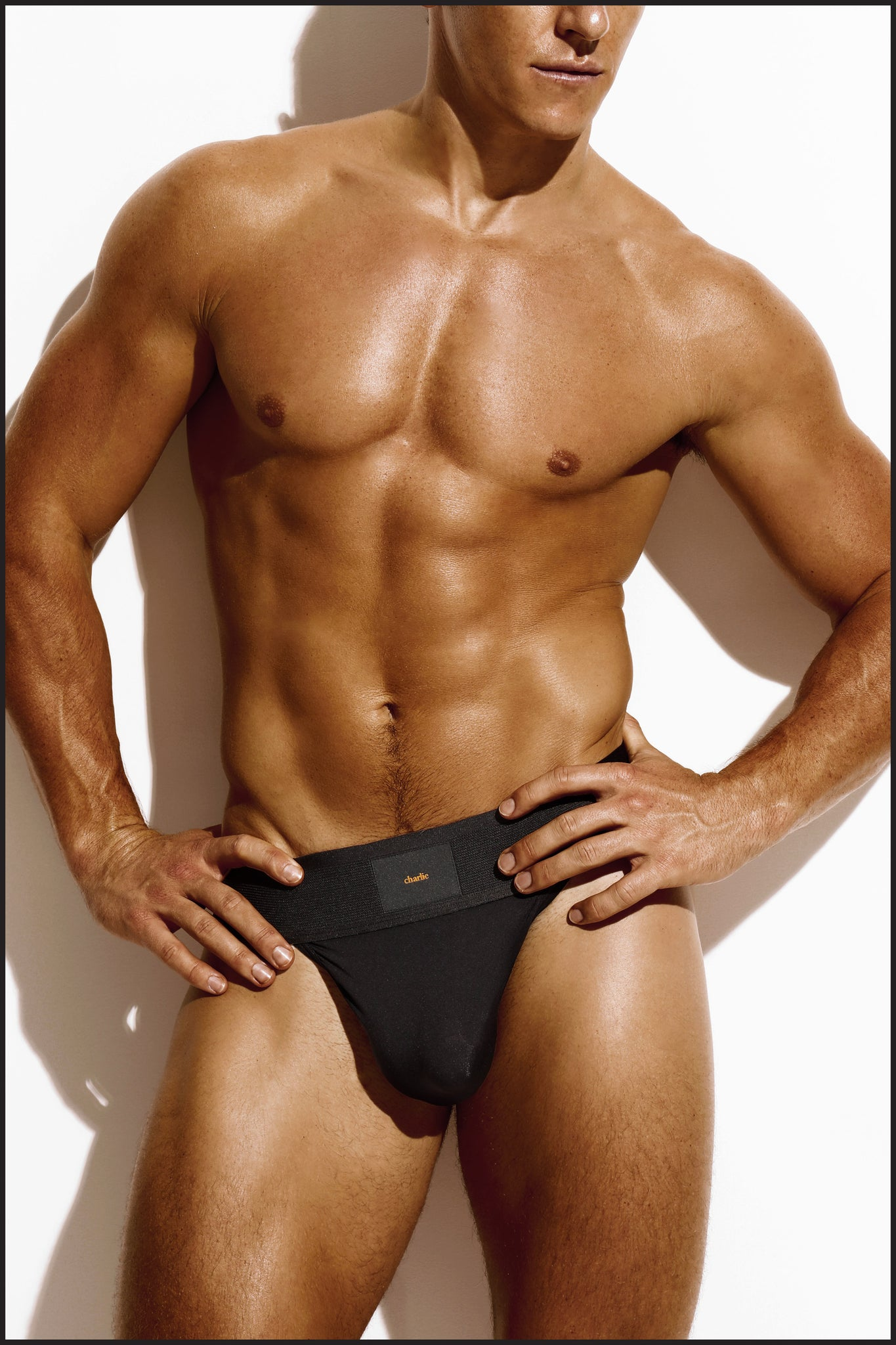 Charlie by Matthew Zink Noir Underwear Pro Sport Brief