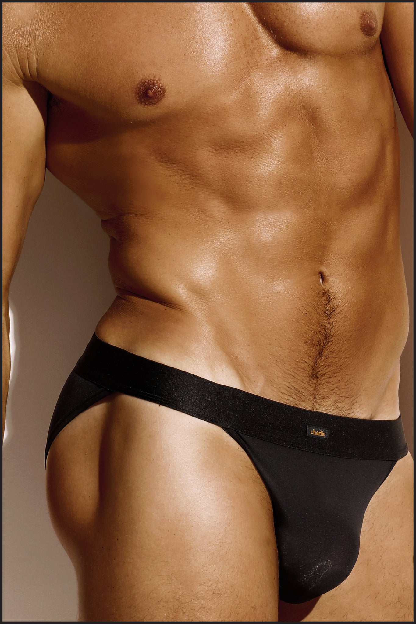 Charlie by Matthew Zink Noir Underwear Sport Brief
