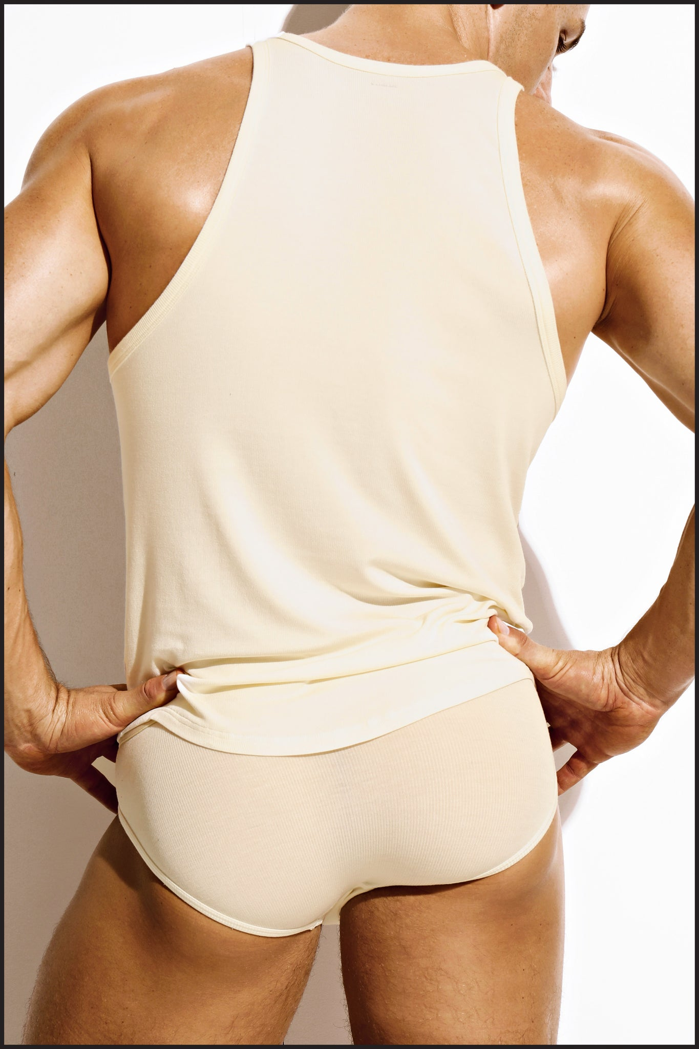 Charlie by Matthew Zink Mustang Underwear Ribbed Tank