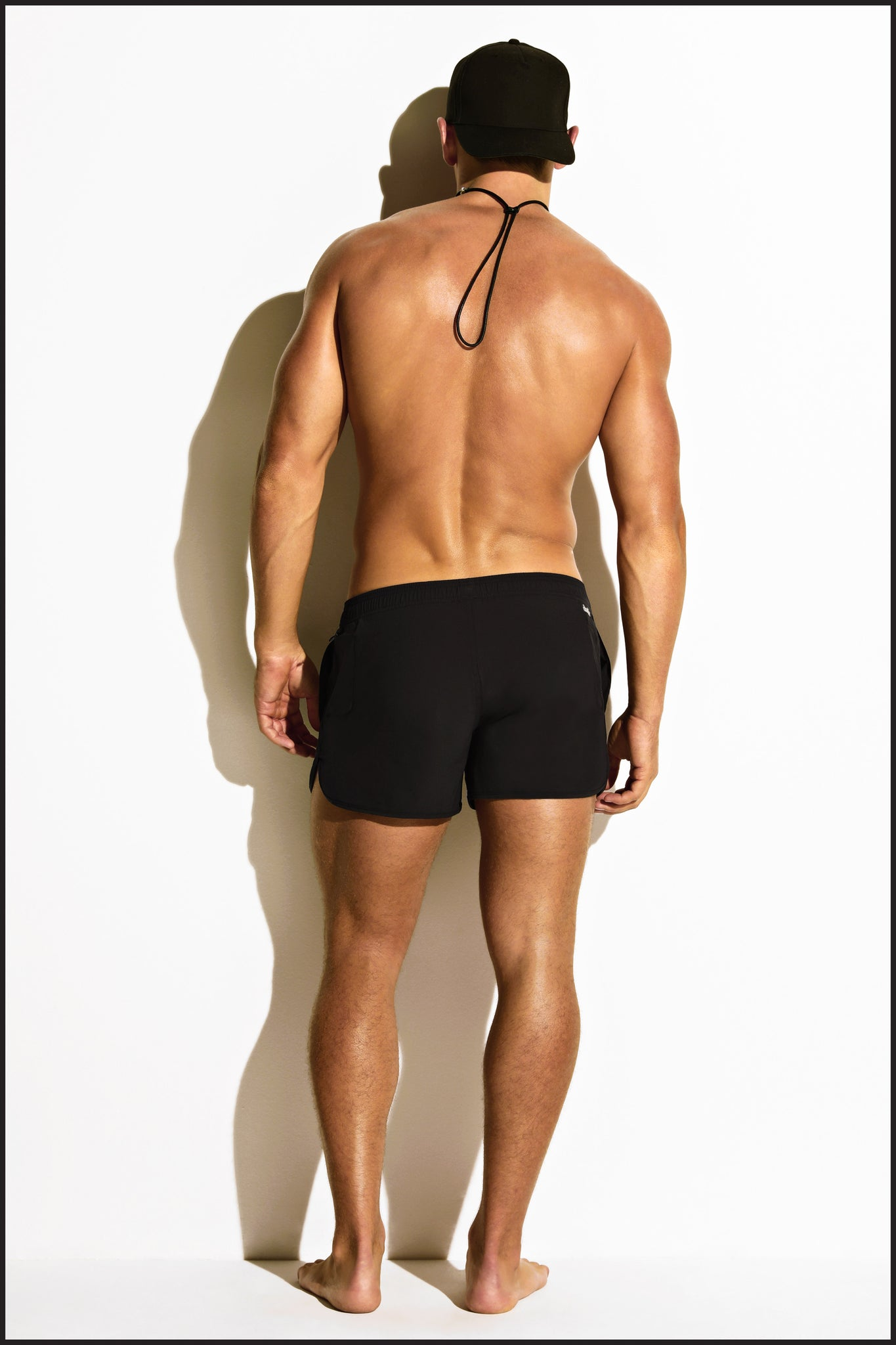 Charlie by Matthew Zink Mens Swimwear Beach Short