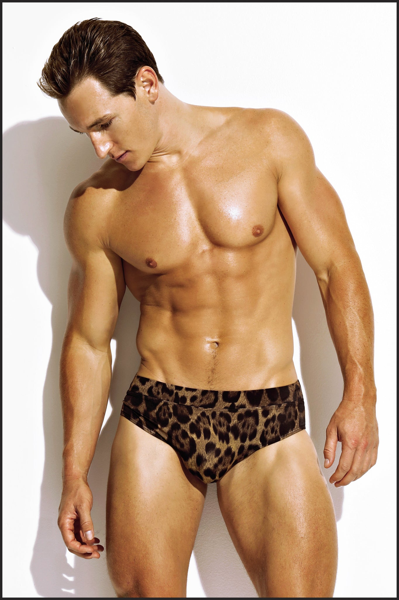 Charlie by Matthew Zink Animal Swim Square Cut Brief