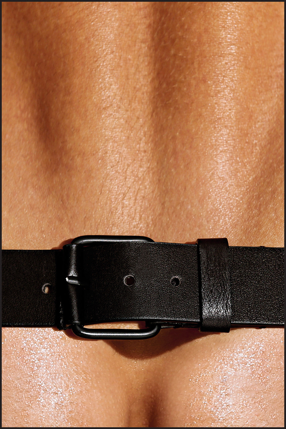 Leather Charlie Leg Harness