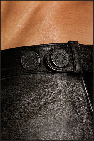 Leather Resort Short