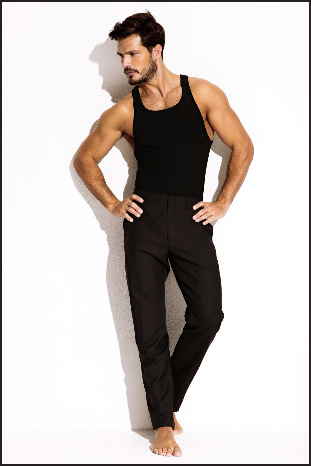 Charlie by Matthew Zink Mens Apparel Ribbed Tank
