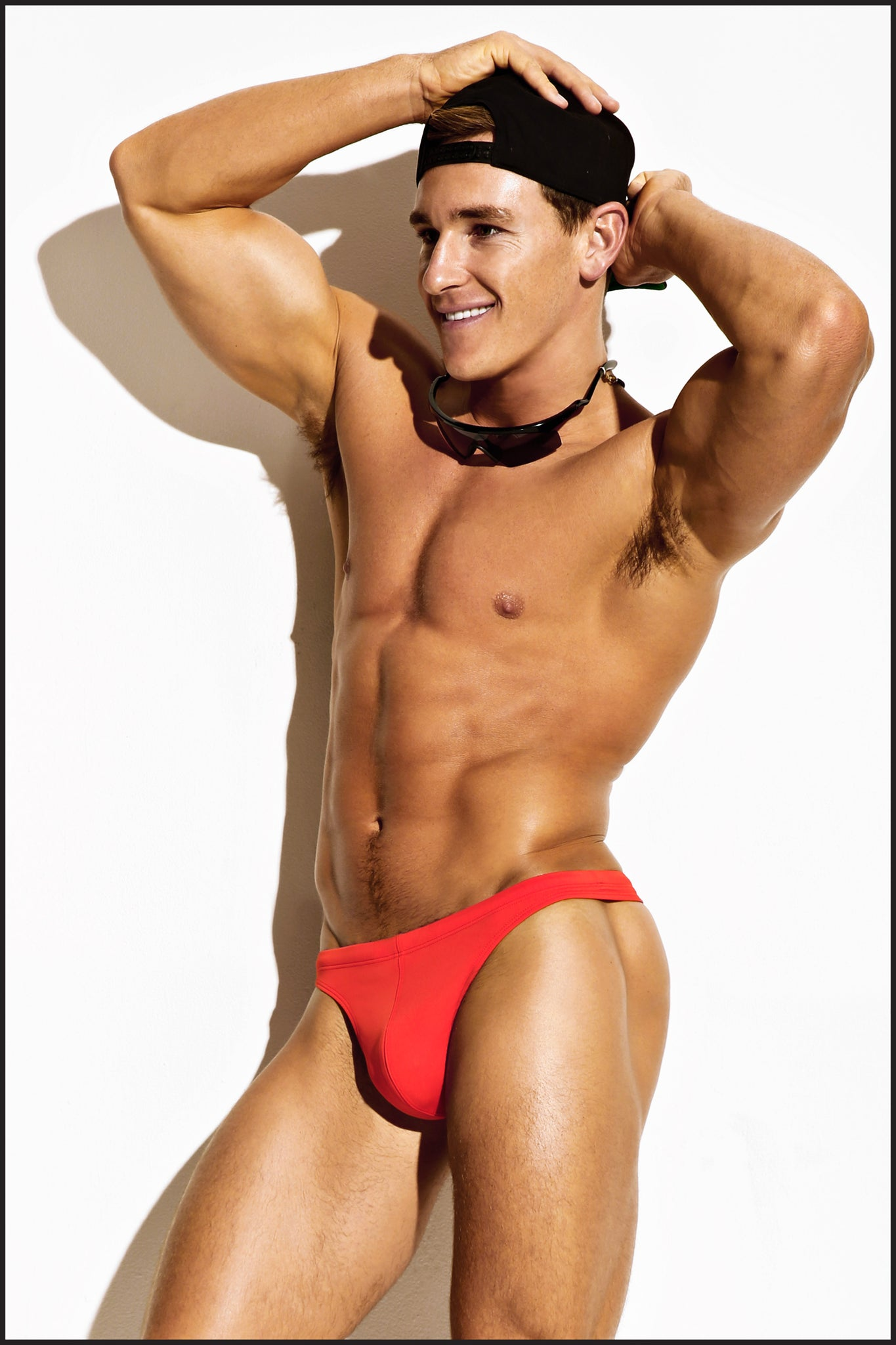 Charlie by Matthew Zink Mens Swimwear Swim Thong