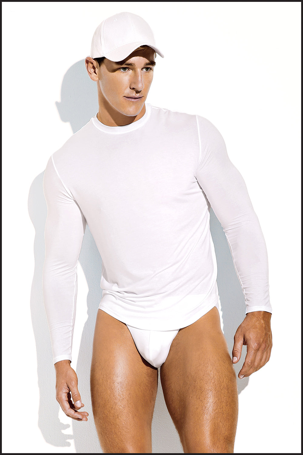 Charlie by Matthew Zink Fitness Apparel Long Sleeve Tee Shirt