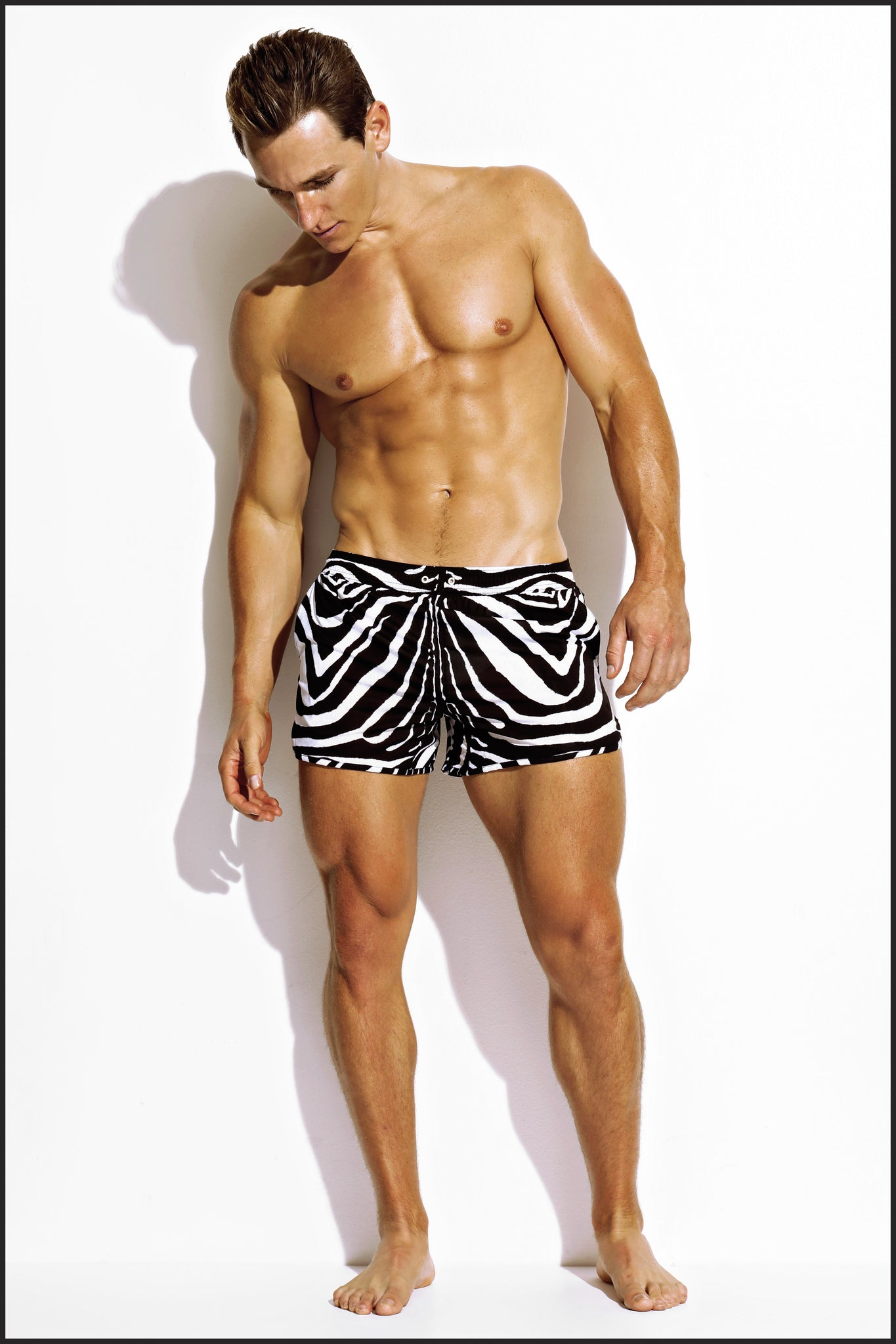 Charlie by Matthew Zink Animal Swim Beach Short