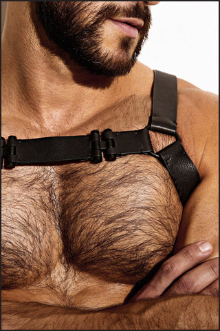 Leather Chest Harness by Charlie
