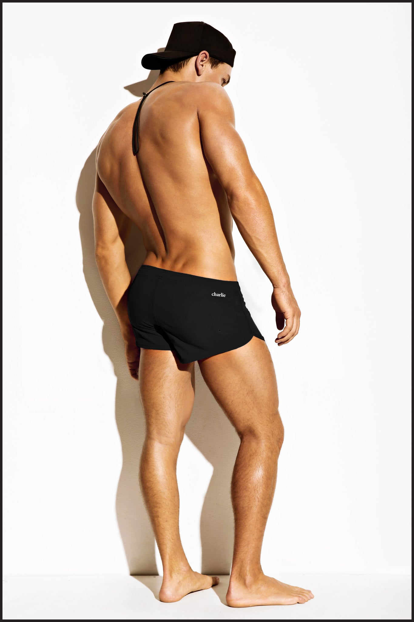 Charlie by Matthew Zink Mens Swimwear Sun Short