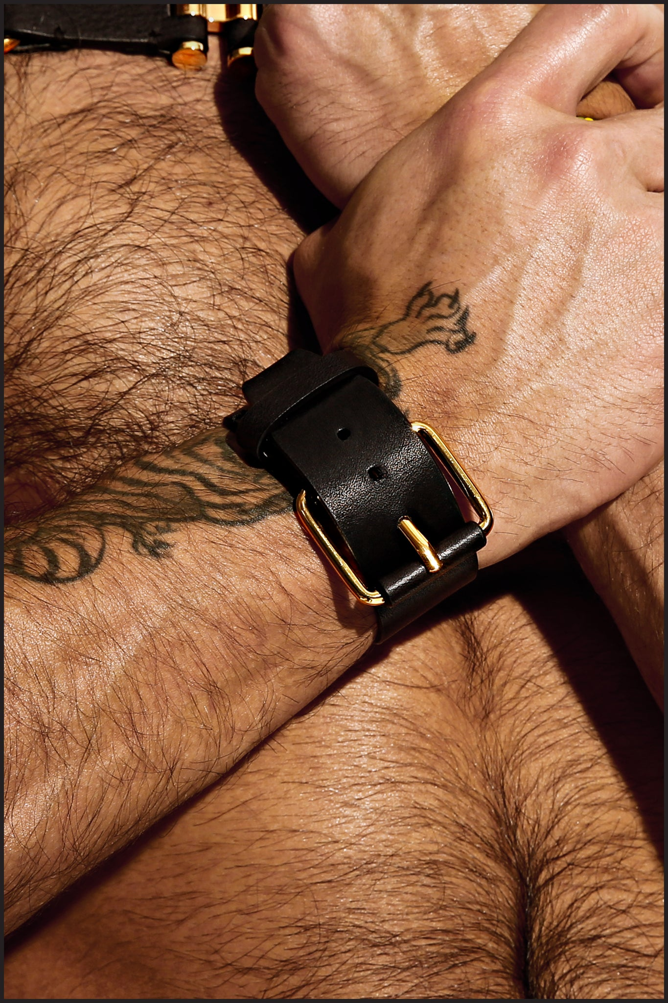 Charlie by Matthew Zink Mens Leather Cuff