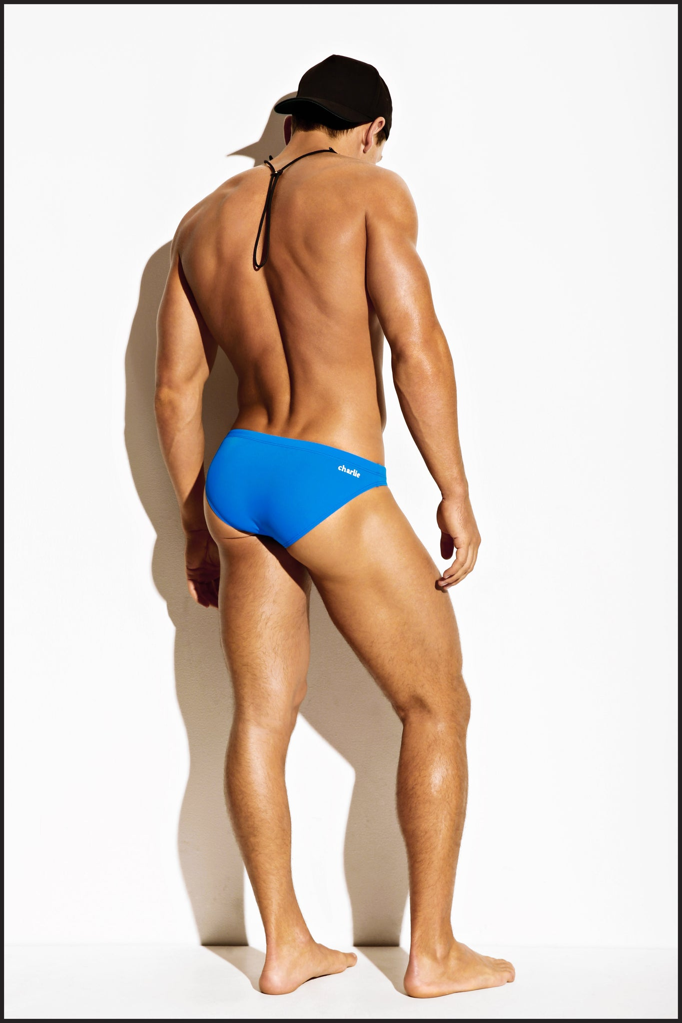 Charlie by Matthew Zink Mens Swimwear Body Brief