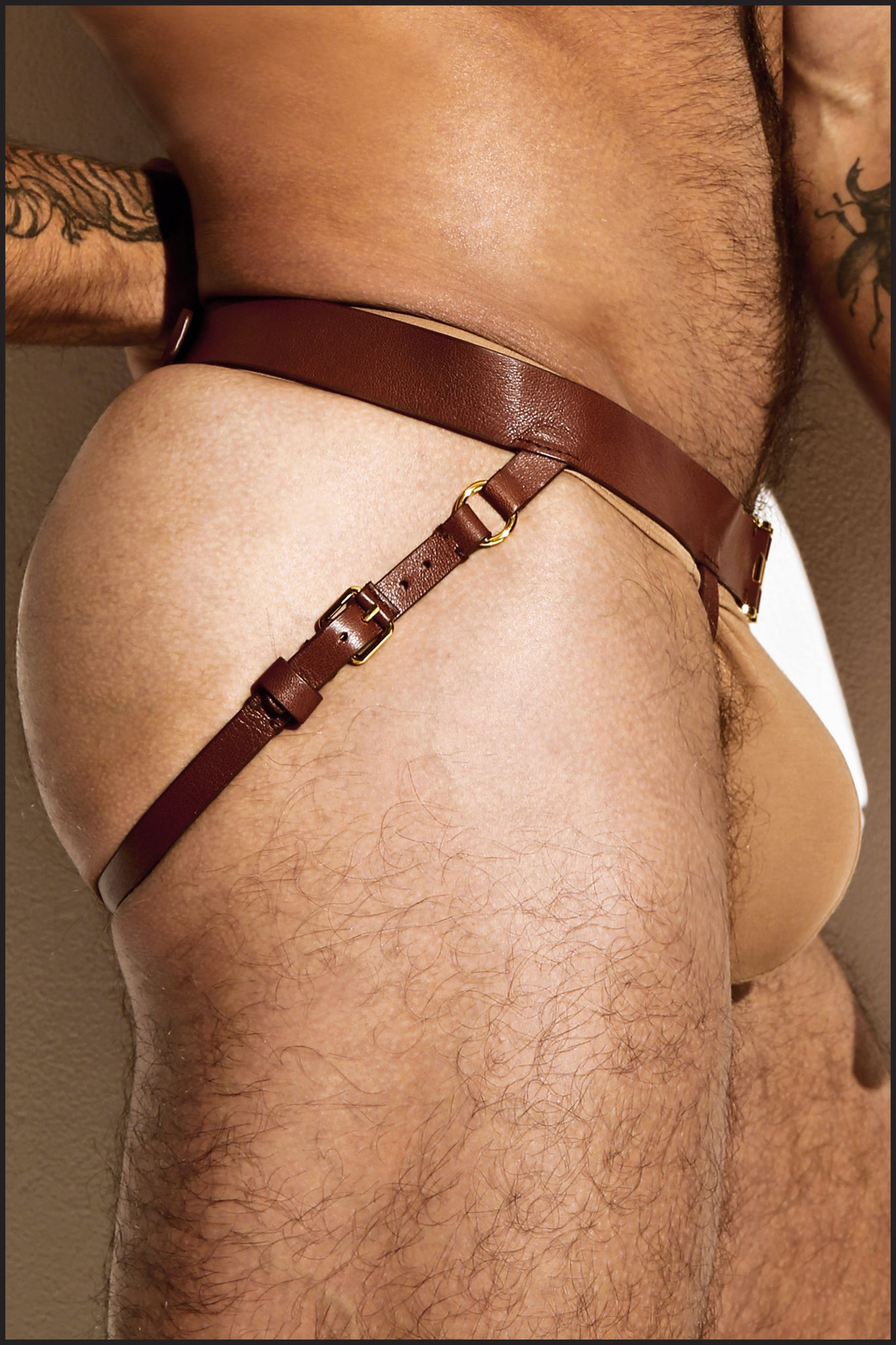 Leather Leg Harness