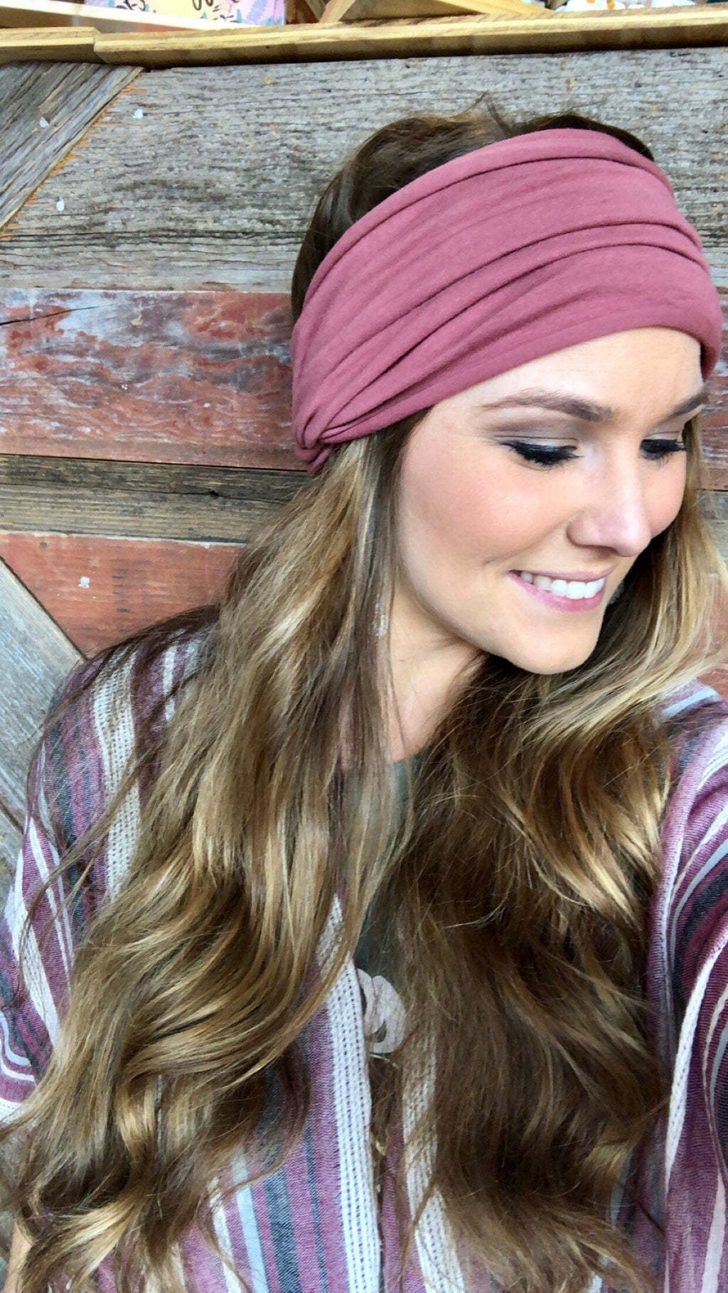 Dusty Marsala Headband