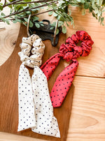 Holiday Scrunchie Scarf • Multiple Colors