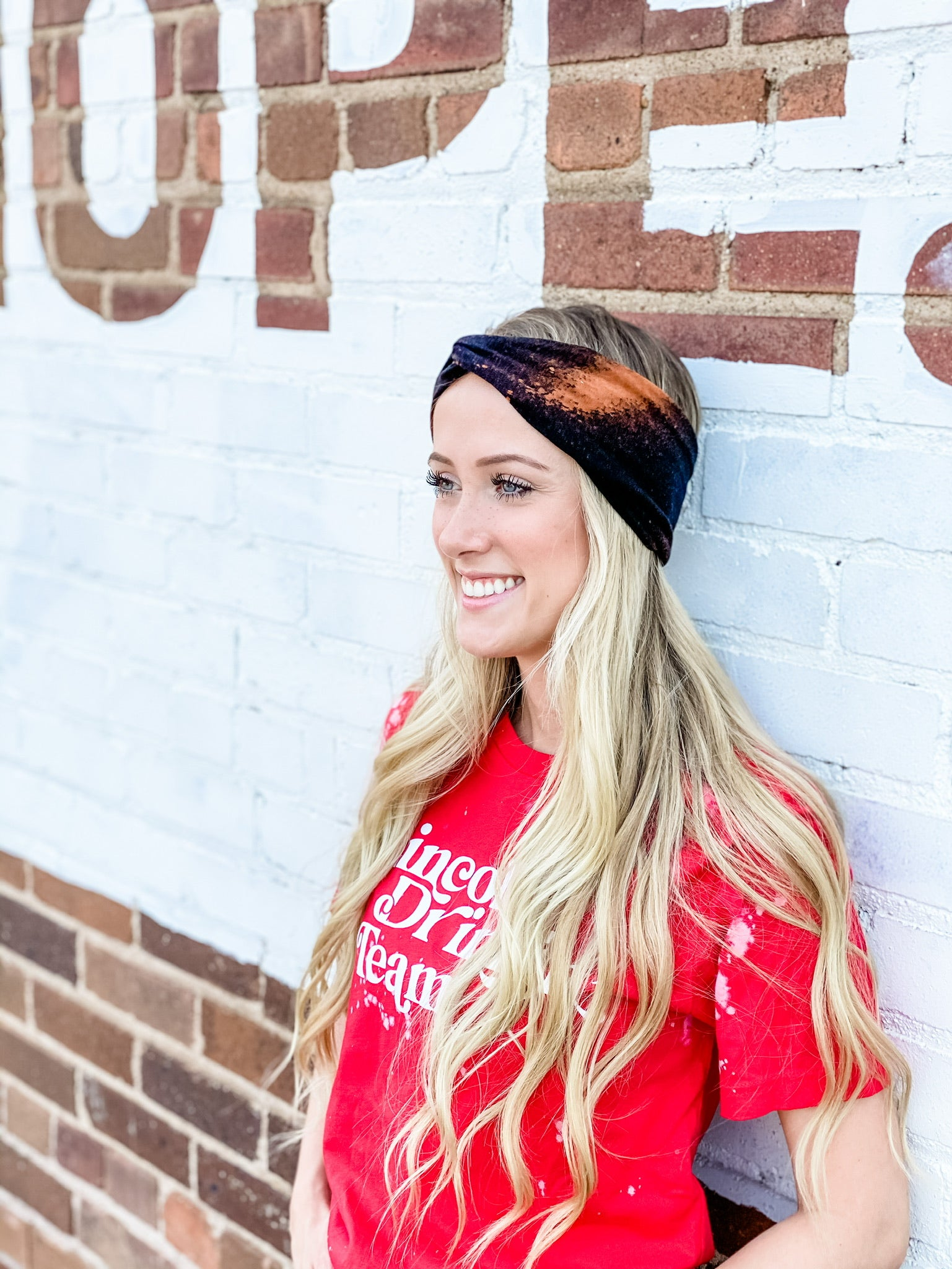 Worn In Bleached Headband