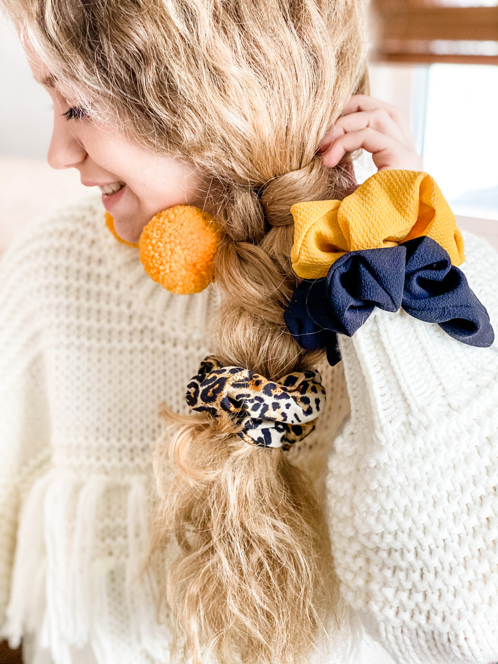 You're So Golden Scrunchie Trio Pack
