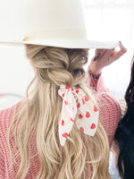 Full Hearts Mini Scrunchie Scarf
