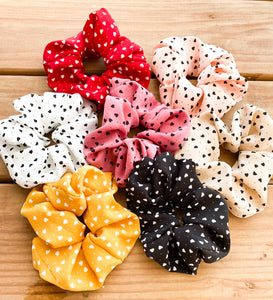 Wild At Heart Scrunchies • Multiple Colors