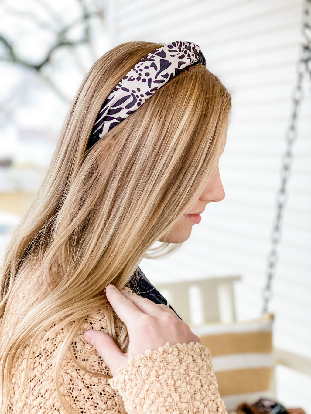 Pleather + Animal Print Structured Headbands • Multiple Colors