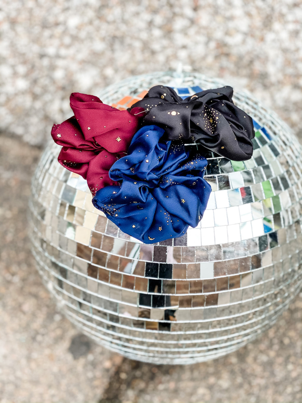 Constellation Scrunchie Trio Pack • Jewel Tones