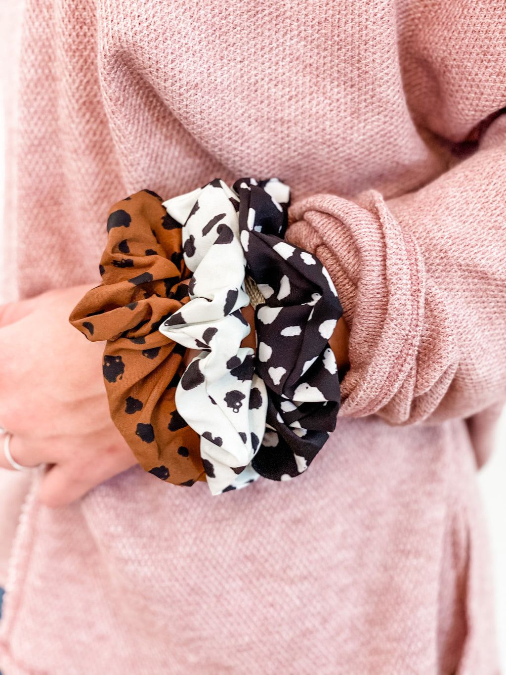 Speckled Scrunchie Trio Pack