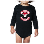 Wheeling Wrestling Club Onsie - Black