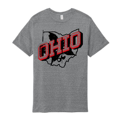 STB Retro Ohio Red - Snow Tee