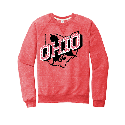 STB Retro Ohio White - Crewneck