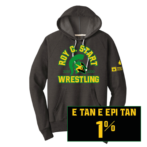 Start Spartan Wrestling-District Perfect Tri French Terry Hoodie