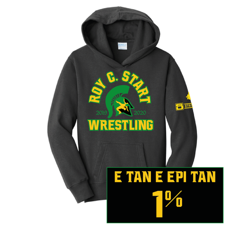 Start Spartan Wrestling - Fan Favorite™ Hooded Sweatshirt-Youth