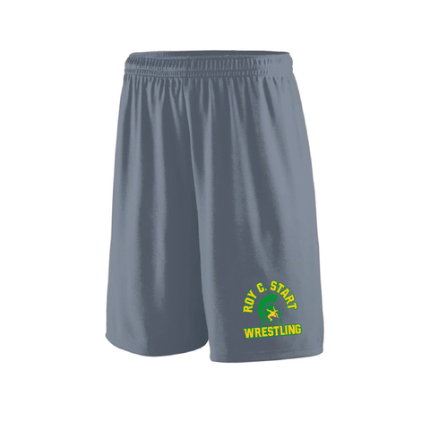 Start Spartan Wrestling - Attain Wicking Shorts - Youth