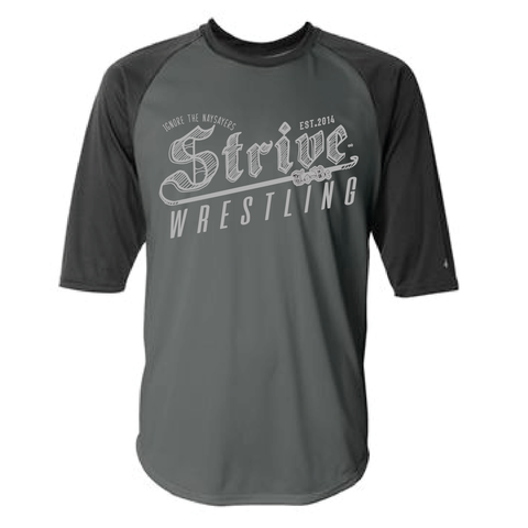 Strive-to-Be - Grit - Baseball Tee