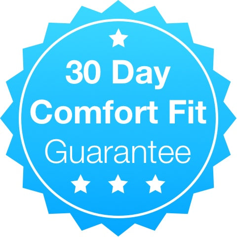30 day comfort fit guarantee seal