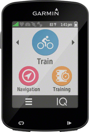 Garmin Edge 820 GPS Cycling Computer: Black