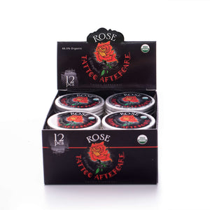 Tattoo Aftercare Rose Balm - Case Size