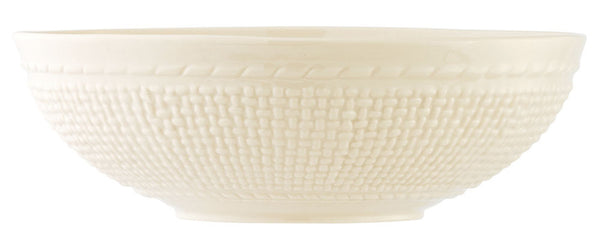 "Belleek Galway Weave 10"" Serving Bowl"