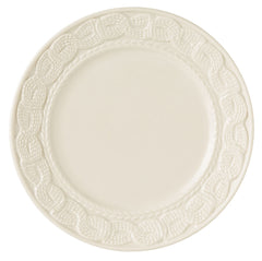 Belleek Galway Weave 'Cable' Accent Plate