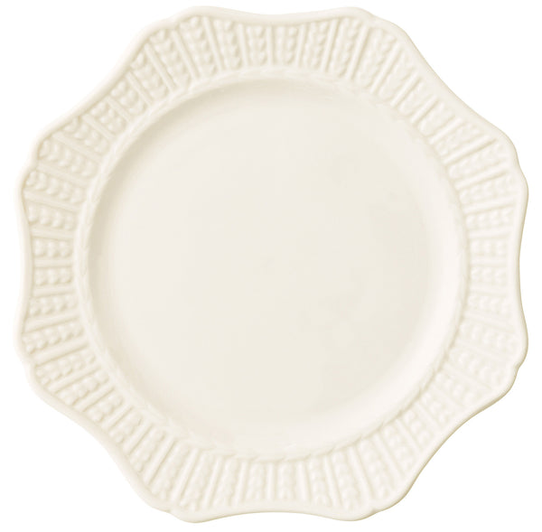 Belleek Galway Weave 'Scallop' Accent Plate