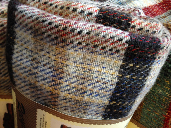Welsh Recyled All Wool Picnic/Throw Rug