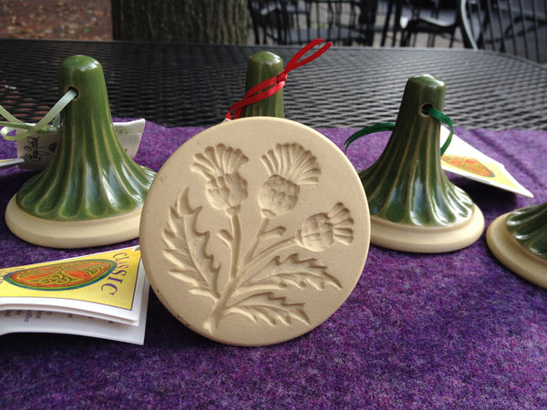 Thistle Cookie Stamp