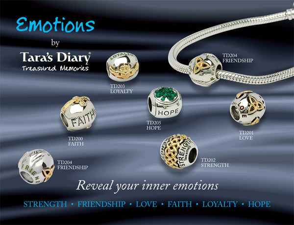 Friendship Emotions Bead