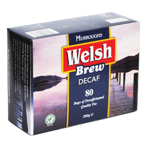 Welsh Brew Decaf Teabags 80ct