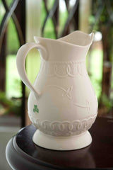 Belleek Celtic Lace Pitcher, 2014 Edition Piece