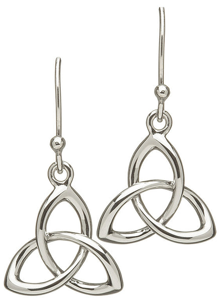 Celtic 3D Trinity Knot Earrings