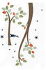 Starry Night Branches Wall Decal (Large)