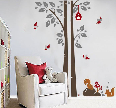 Enchanted Forest Tree Wall Decal (Large)